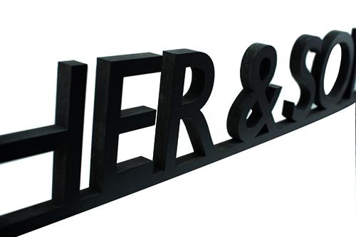 Lettres 3D